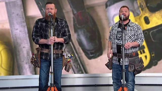 The Singing Contractors perform on 'Fox & Friends'