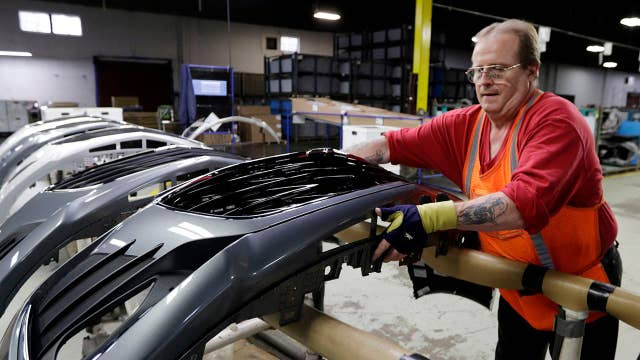 American factories hit by decline in demand for machinery, electrical equipment