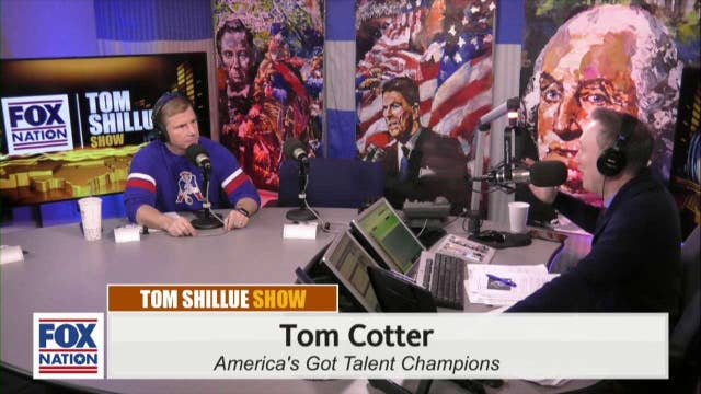 Tom Cotter Reacts To Getting X'd On America Got Talent