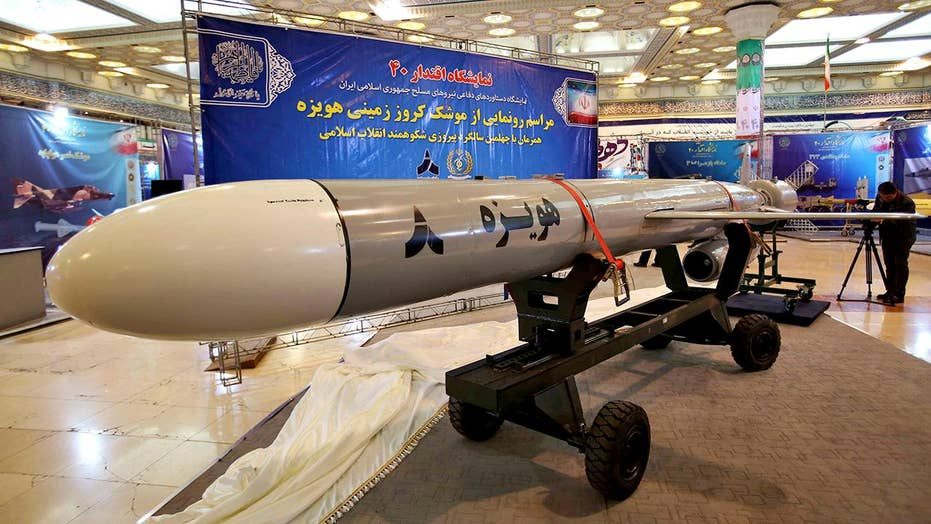Iran unveils new cruise missile on Islamic Revolution anniversary