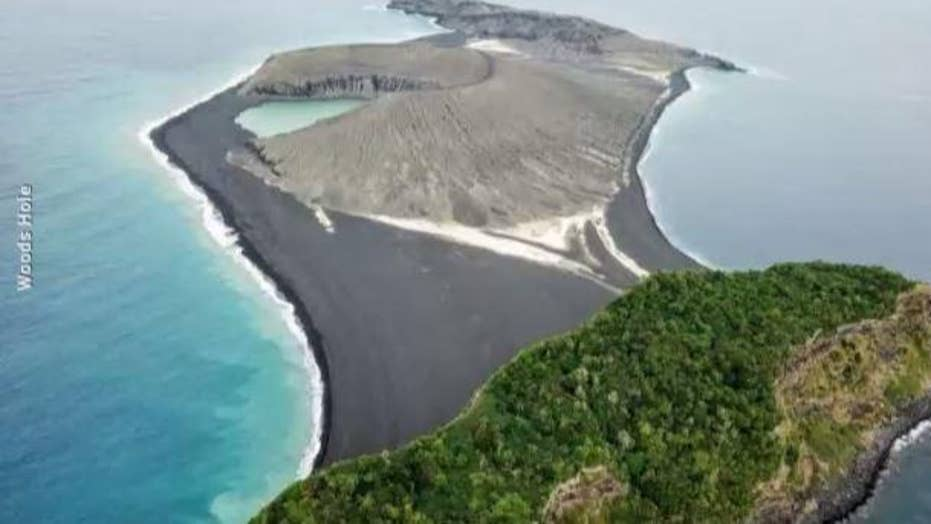 NASA: Mysterious island that formed in the Pacific Ocean is here to stay