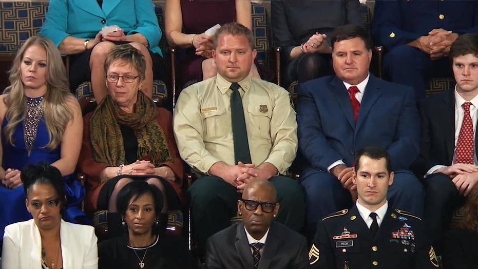 CA Firefighter Reflects on Being Part of Trump's First SOTU