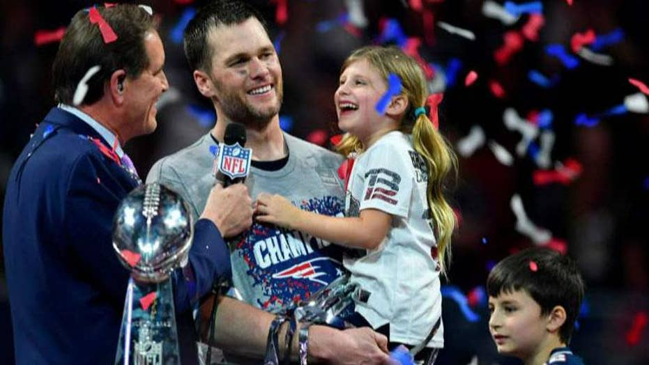70ac5c0eec8 Tom Brady becomes oldest quarterback to ever win a Super Bowl