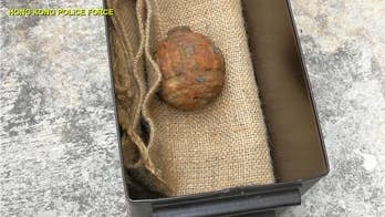 WWI grenade found in potato sack in chip factory