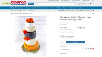 Costco selling 24-pound cheese 'Wedding Cake' capable of feeding 150 guests