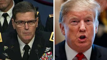 Top US general in the Middle East says he was not consulted on Syria strategy