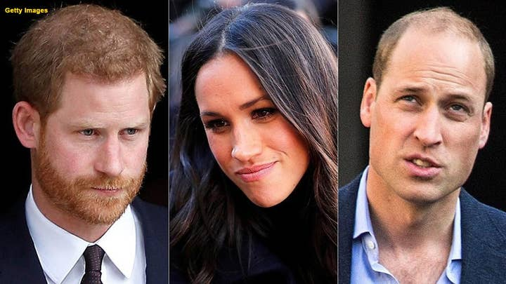 Royal expert claims Prince Harry and Prince William may have clashed over Meghan Markle