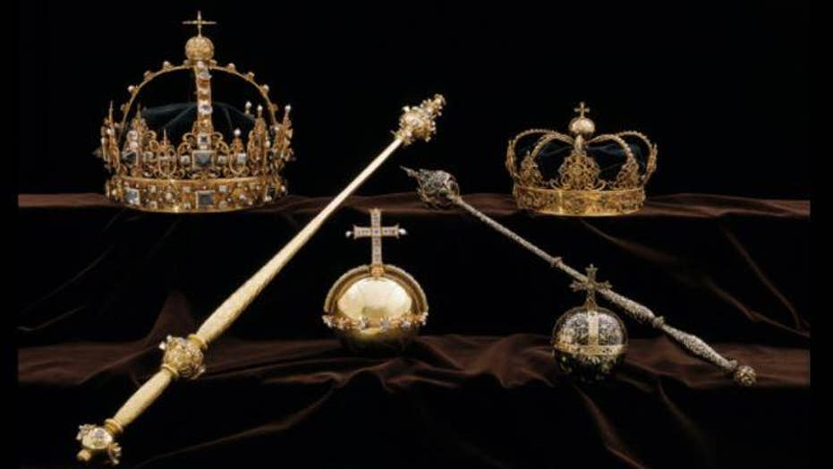 $7 million worth of stolen Swedish royal treasure might have been found in a Stockholm suburb