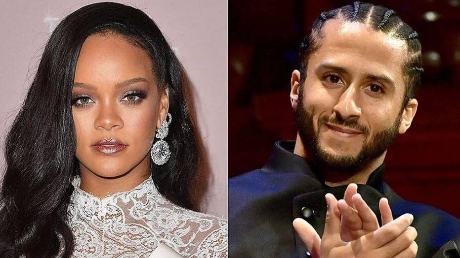 Colin Kaepernick tweets his thanks to Rihanna for her show of solidarity in boycotting the Super Bowl