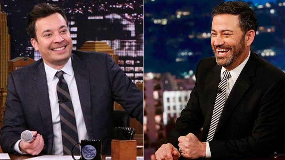 Image result for Kimmel, Fallon avoid Ralph Northam controversy in late-night monologues; both have histories using blackface in skits