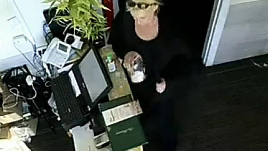 North Carolina restaurant shares video of woman appearing to swipe a tip jar as a warning to other businesses