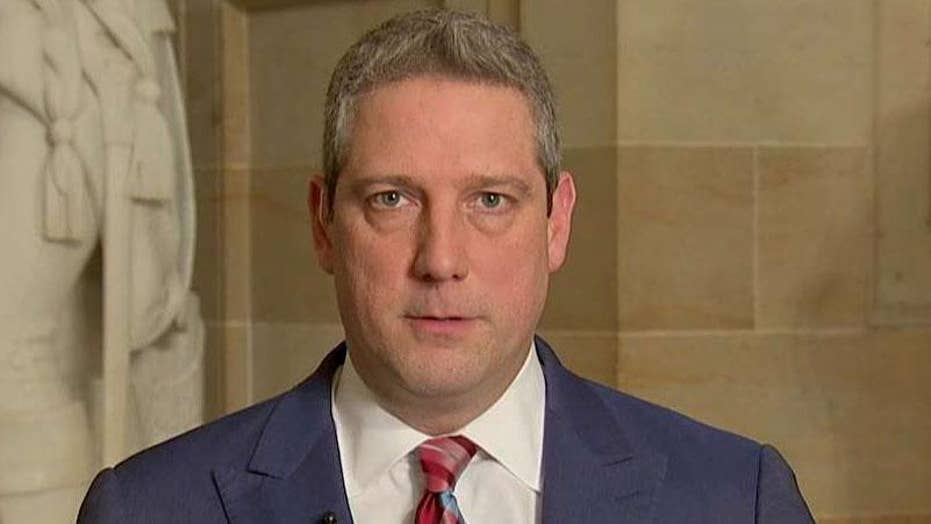 Rep. Tim Ryan announces he is considering a presidential run in 2020