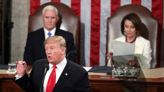 Social media offers theories on what Nancy Pelosi read during State of the Union