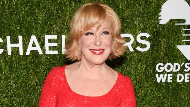 Bette Midler urges pro-choice followers to 'buy stock in coat hangers' during the State of the Union address