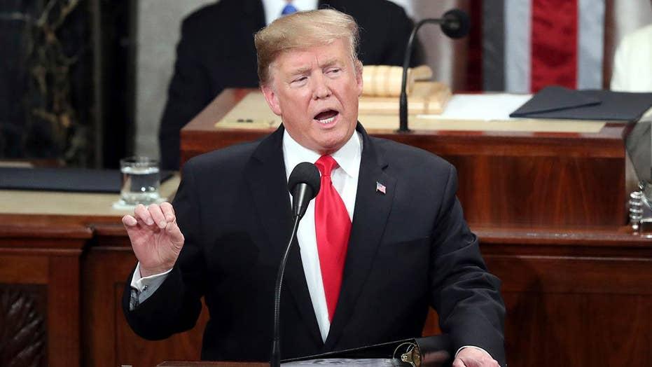 Trump Rede zur Lage der Nation