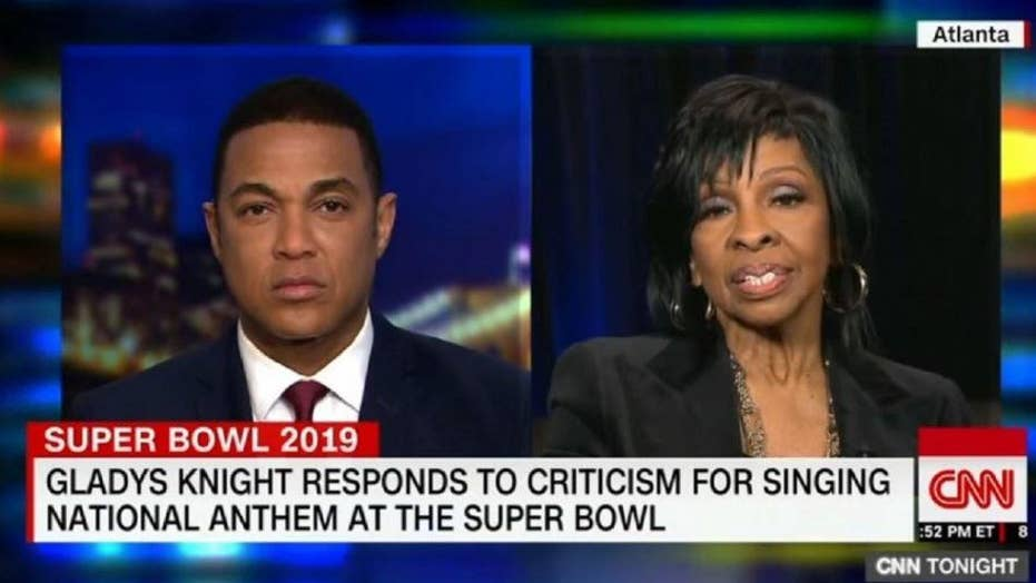 Legendary soul singer Gladys Knight does not think Super Bowl performance will impact her career