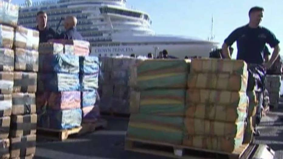 Coast Guard seizes 35,000 pounds of cocaine in Pacific