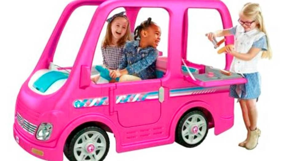 Power Wheels Barbie Dream Camper recalled for stuck accelerator issue