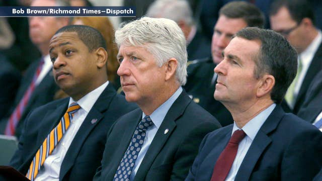 Top three Virginia Democrats embroiled in controversies, state leadership in crisis