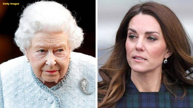 Royal biographer claims Queen Elizabeth disapproved of Kate Middleton's displays of wealth before marrying Prince William