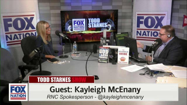 Todd Starnes and Kayleigh McEnany