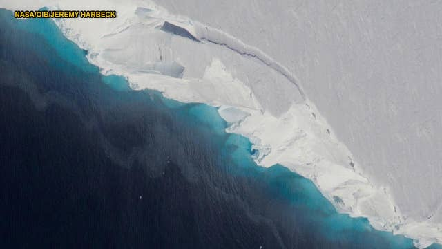 Ominous Antarctic hole almost the size of Manhattan discovered