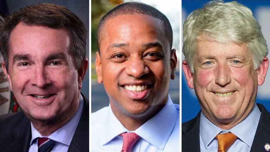 Top-ranking Virginia Democrats in line for the governorship caught in scandal