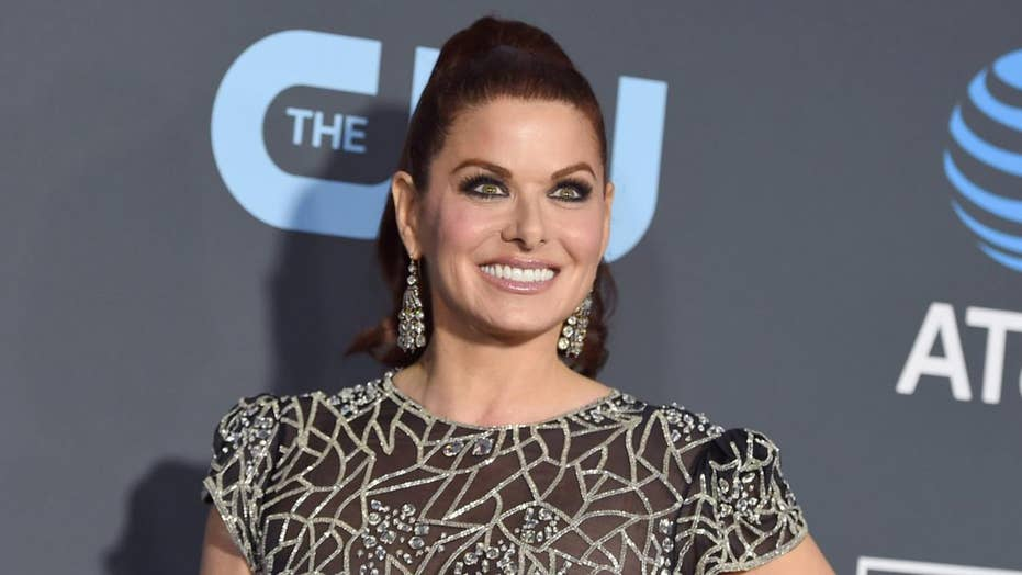 Debra Messing says 'God is crying' after sharing bizarre video on social media