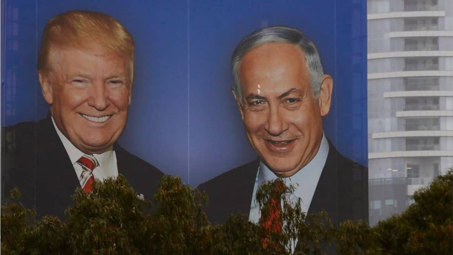 Netanyahu campaigns on cozy friendship with Trump ahead of Israel's April election