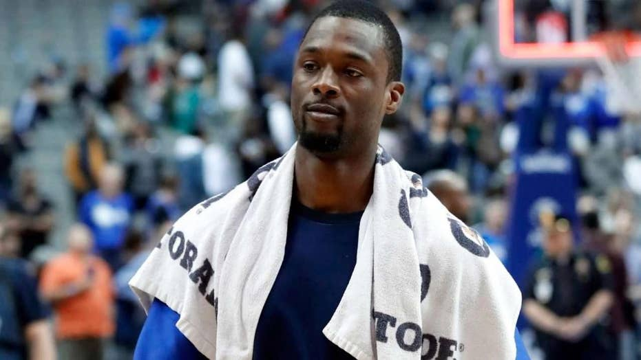 Nba Star Harrison Barnes Appears Shocked To Learn He S Been Traded