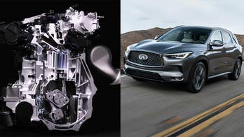 The Infiniti QX50 debuts revolutionary new engine