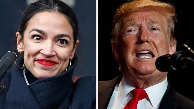 Freshman congresswoman Alexandria Ocasio-Cortez claims Trump 'hates all immigrants,' vows to defund ICE