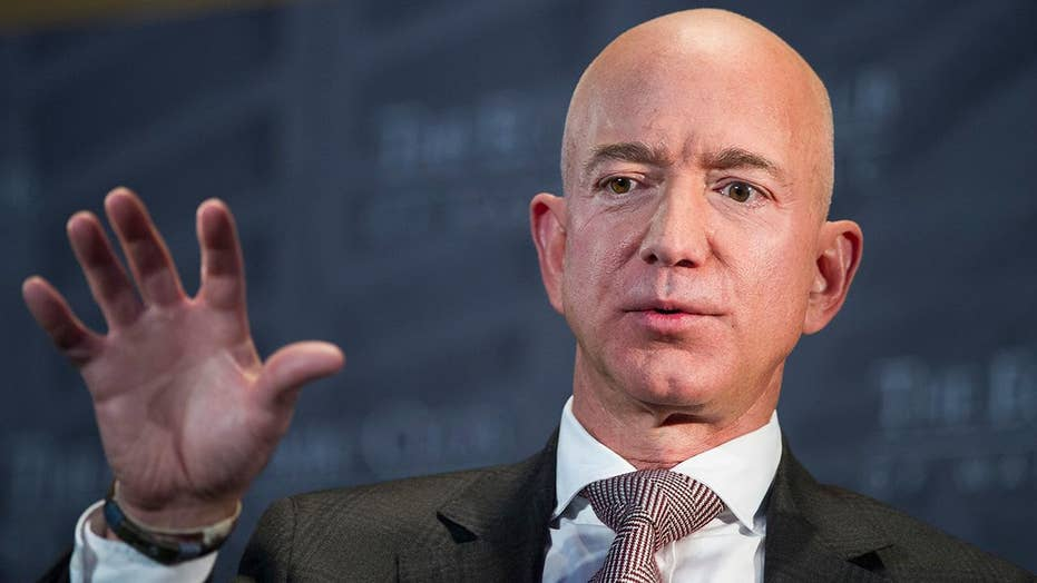 Amazon founder Jeff Bezos accuses National Enquirer's publisher of blackmail