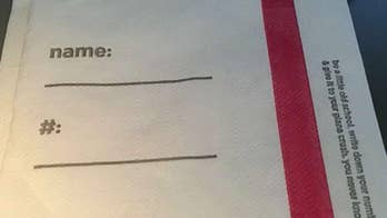 Delta hands out napkins encouraging passengers to flirt, give out phone numbers