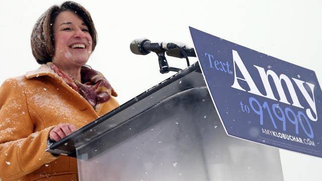Senator Klobuchar becomes the latest in growing pool of 2020 Democratic contenders
