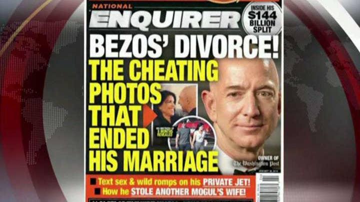 Bezos says Enquirer blackmailed him