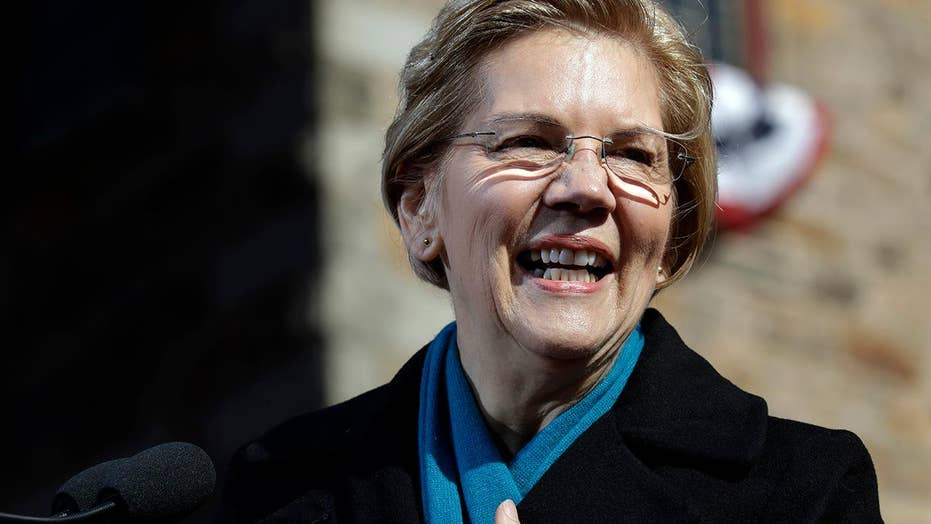 Elizabeth Warren kicks off her presidential bid with a promise