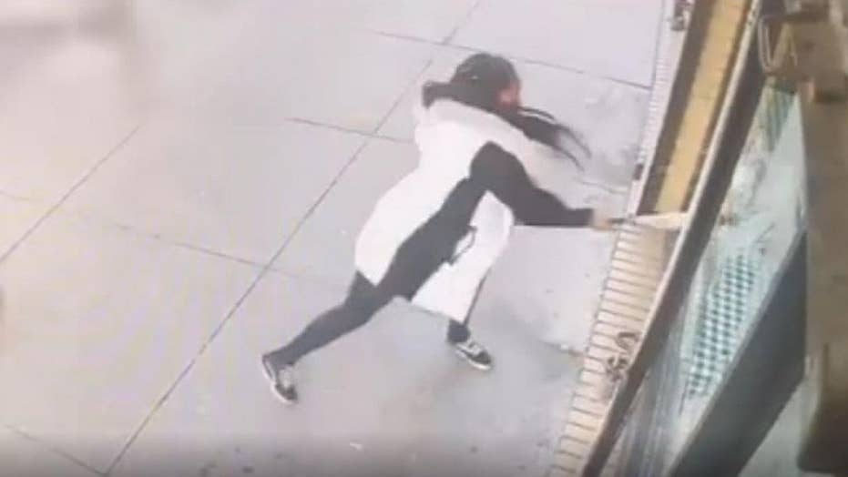 Bronx woman smashes window when restaurant runs out of beef patties