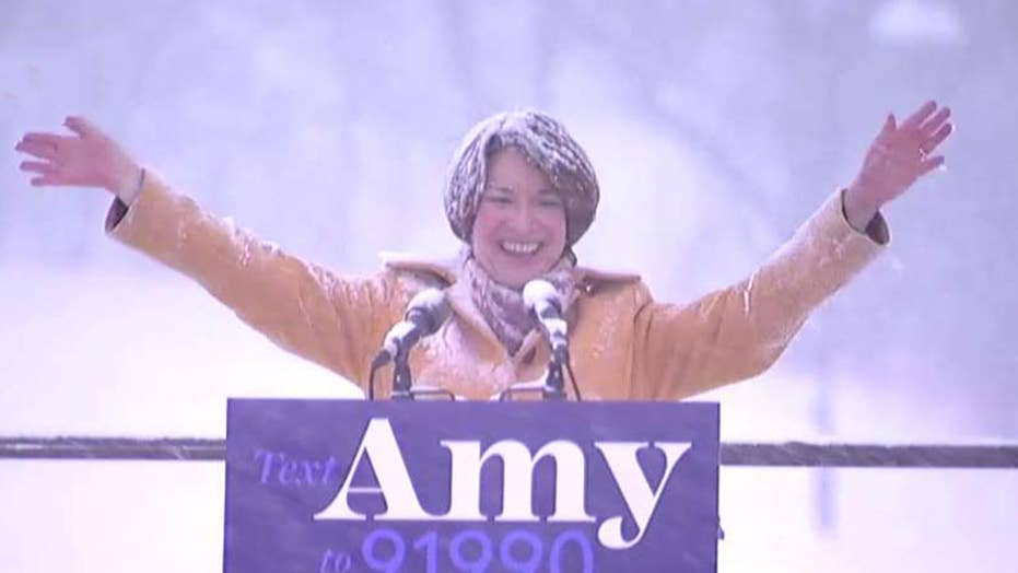 Democrat Sen. Amy Klobuchar announces her 2020 presidential run
