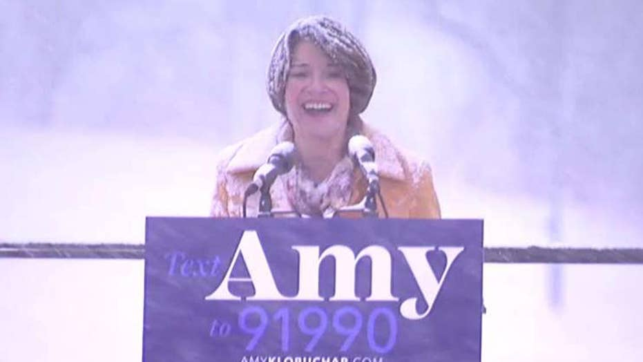 Sen. Klobuchar announces her 2020 bid for the Democratic presidential nomination
