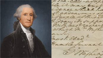 George Washington letter on God and the Constitution surfaces