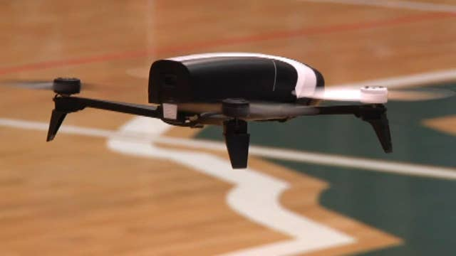 Engineering students push the envelope with thought-controlled drones