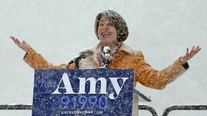 Senator Amy Klobuchar is running for president