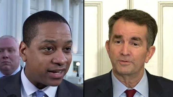 Is the government of Virginia facing an identity politics problem?