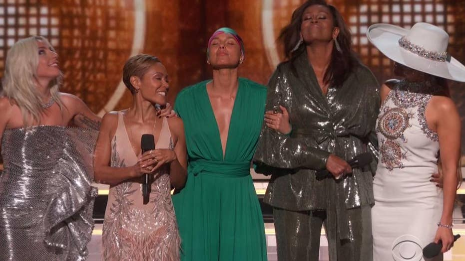 Grammy Awards 2019: Former First Lady Michelle Obama gets a standing ovation