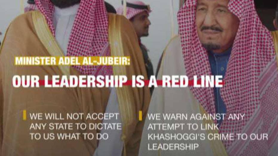 Saudi Arabia threatens US over investigations into Khashoggi killing