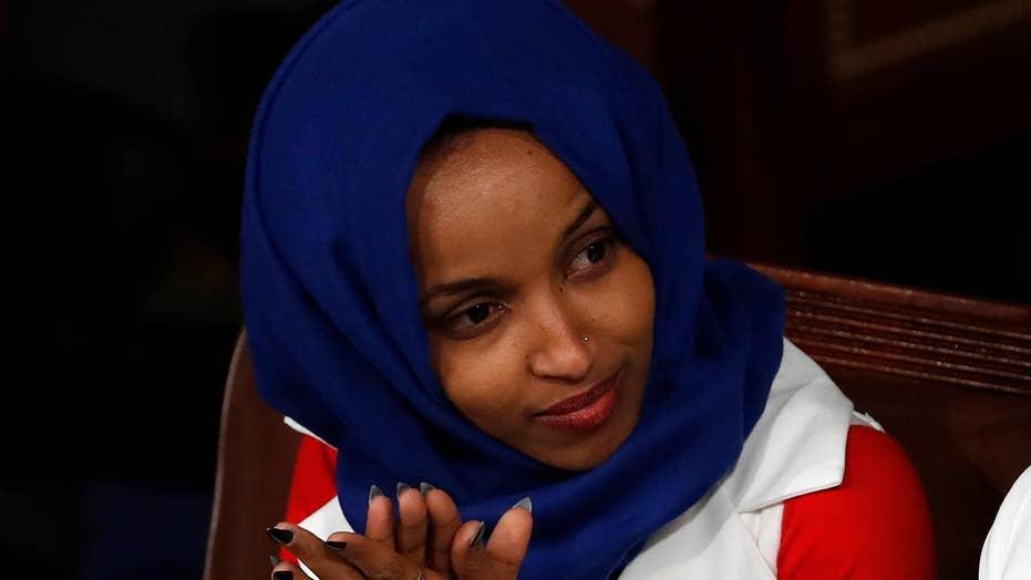 Rep. Ilhan Omar targets pro-Israel group AIPAC