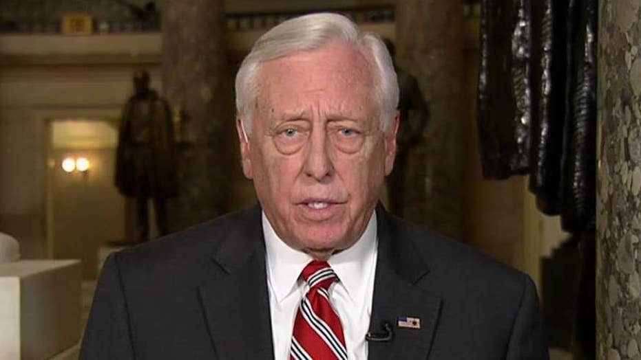Rep. Hoyer: There are still negotiations going on over border security