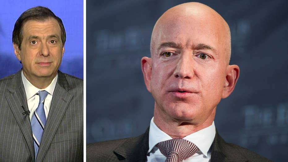 Howard Kurtz: Why a hermit of Jeff Bezos' partner consulted Carter Page, Roger Stone