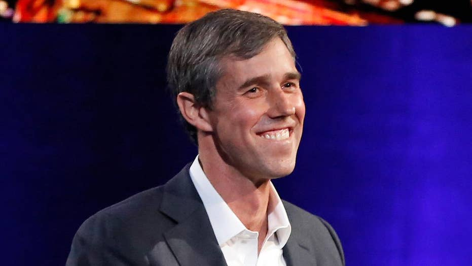 Beto O'Rourke holds counter-Trump rally that many see as a 2020 test run